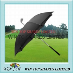 "23"" Special golf club umbrella/invention golf umbrella"
