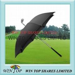 "23"" Special golf club umbrella/invention golf umbrella"