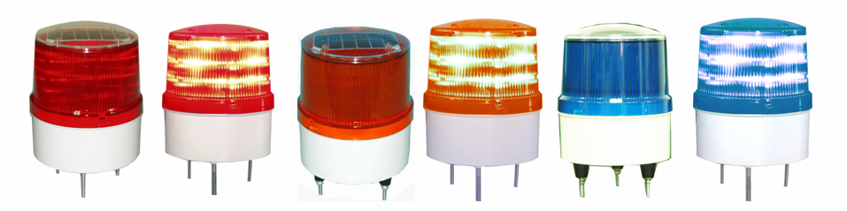 Solar Warning Light for construction and vehicles 4