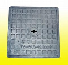 铸铁盖板(外方内圆)