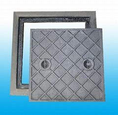 Square frame with square opening