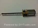 12V 微型螺紋軸減速電機(006).