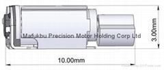 新产品:直径:3mm微型贴片振动马达(001)