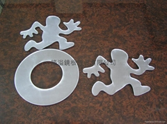 Acrylic mirorr decoration