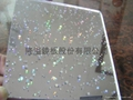 The transparant start acrylic sheet  1