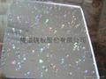 The transparant start acrylic sheet  2