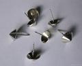 Conical head metal hard tag pins