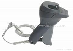 Handheld detacher for eas hard tags