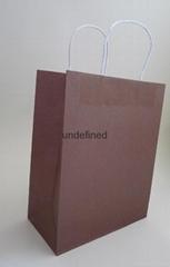 medium colorfulkraft paper bag-brown