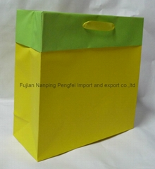 gift bag with cuff-1