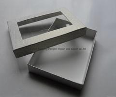 白色紙質包裝盒