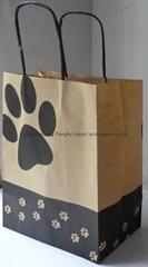 brown kraft paper bags-pet