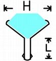 (DK)水钻包脚钉,压克力钻包脚钉,番石包脚钉,水钻撞钉 2