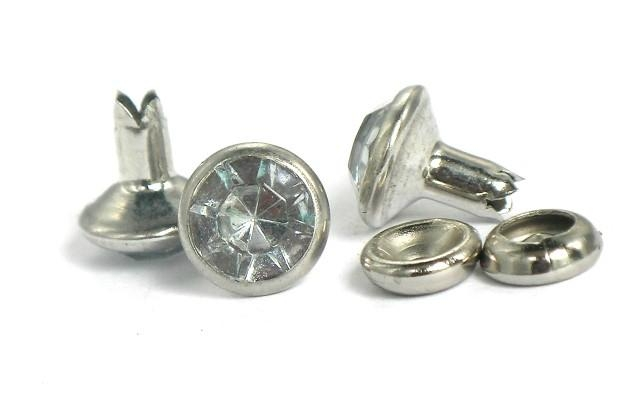 (DX)Bifurcated Glass Rhinestone eyelets  1
