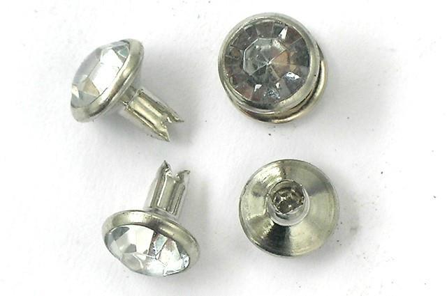 (DX)Bifurcated Glass Rhinestone eyelets  3