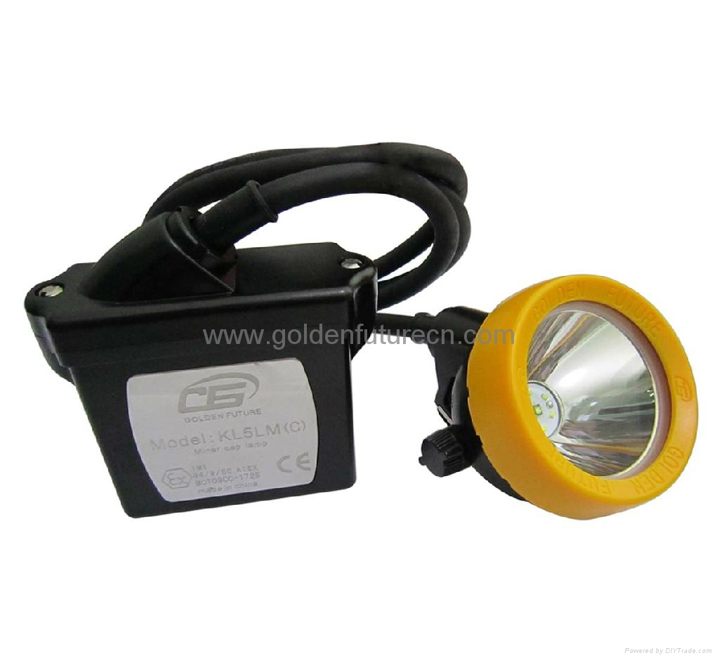 KL5LM(C) LED cap lamp, miner lamp, safety lamp 1