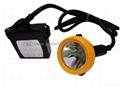 KL5LM(B) cord LED cap lamp, miner's lamp