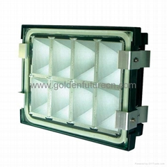 Explosion proof lighting fixture for vehicle/auto lighting system