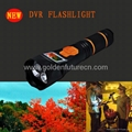 Multifunction led rechargeable different storage DVR recorder flashlight  5