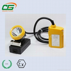 with low power indication function led rechargeable miner cap lamp