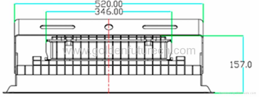 IP65 150w LED Shopping mall lighting outdoor led floodlight 2