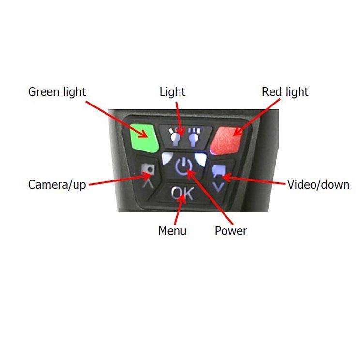 led dvr flashlight