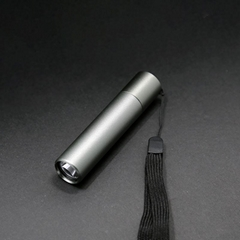 Mini portable aluminium LED torch flashlight