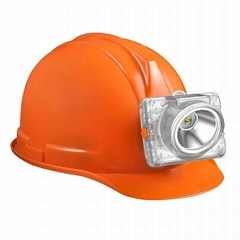led new cordless inductive charging safety miners cap lamp/mining light