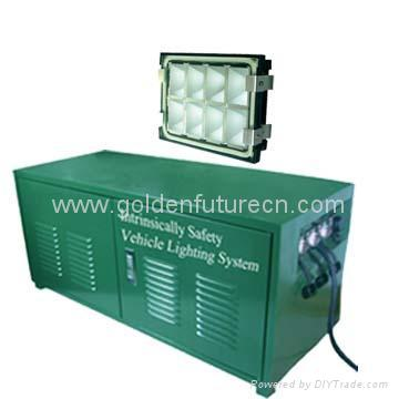 lighting system for  heavy Industry machine 1