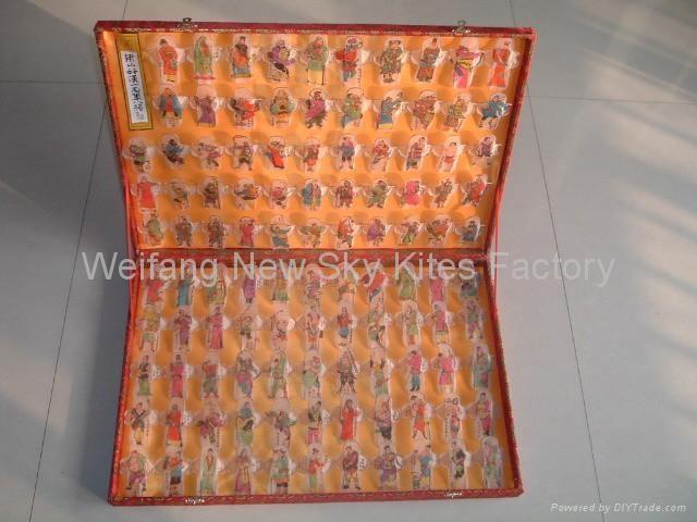 Liangshan 108 Heroes (57x38x6 cm)
