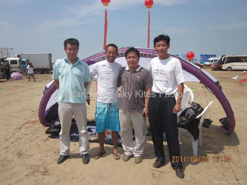 2nd wiefang surfing kite festival