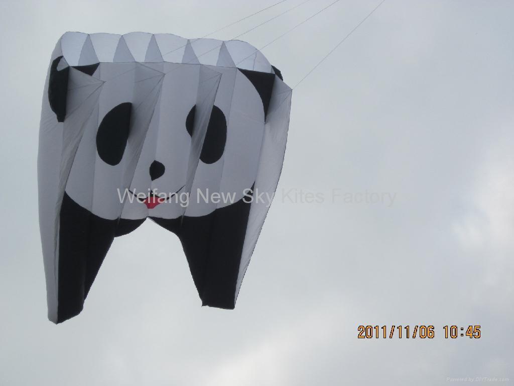 3155 熊猫领航风筝 1