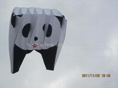 3155 熊猫领航风筝
