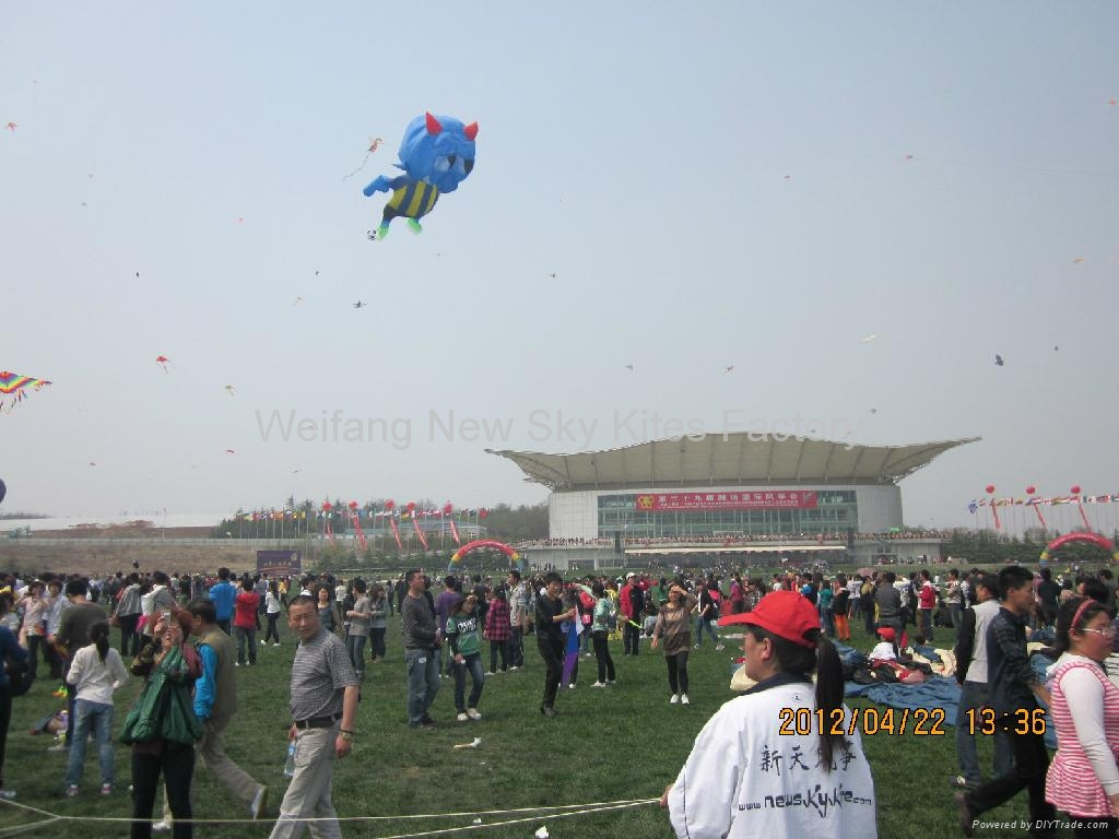 65M long New Octopus in 2012 Weifang kite festival
