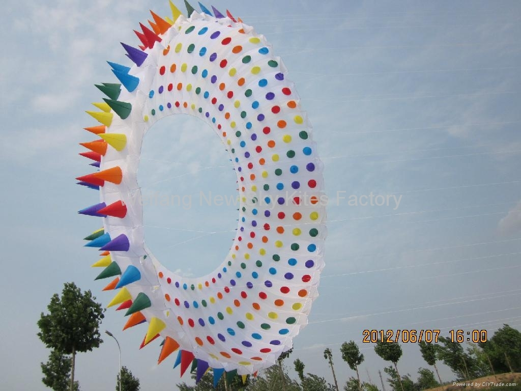 5155 Spiky ring kite (10M diametre)