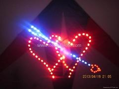 4313 Double heart