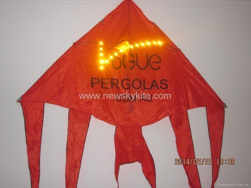 Logo LED kite