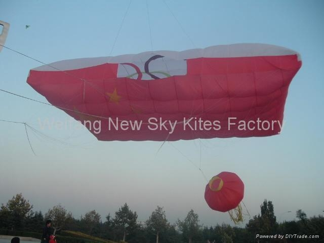 Biggest kite of 2008 WF kite festival (18x12M)