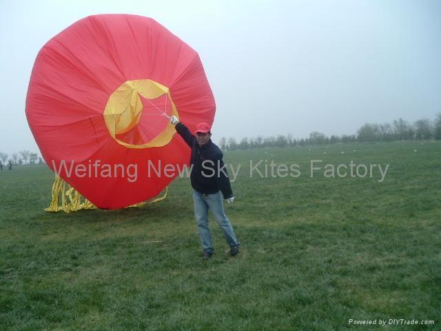 Biggest kite of 2008 WF kite festival (18x12M)