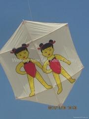 7066 六角风筝