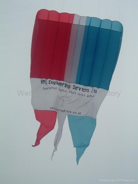 Advertising pilot kite