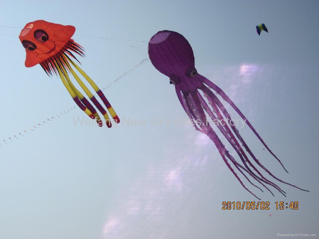 3228 Jellyfish China Manufacturer Inflatable Kite