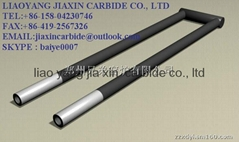 easy install  Silicon-carbide (SIC) heating elements for glass industrial