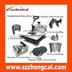 6IN1 combo  heat transfer machine