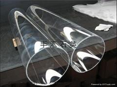 大口徑透明石英管