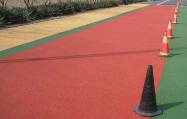 彩色防滑路面 1