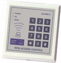 Q2000-C Proximity Card + Password Access Control