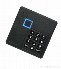3000pcs monthly capacity access control,ABS plastic case,wiegand 26 input