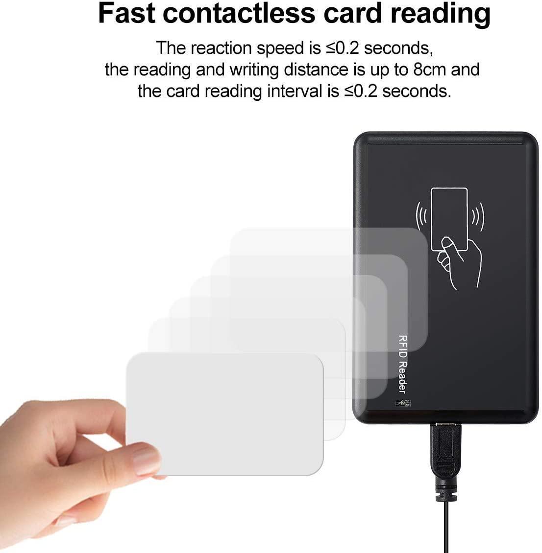 RFID Reader USB 13.56mhz or 125khz EM4100 or Mifare Card Reader Emulate Keyboard