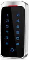 Metal Digital backlit touch keypad access control or RFID reader